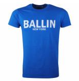 Ballin New York Heren tshirt ronde hals blauw