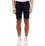 Just Junkies Mike korte broek donkerblauw denim