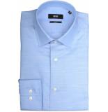 Hugo Boss Jenno overhemd 50405137/450 overhemd blauw