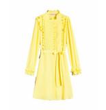 Twin-set 191tp2137 jurk geel