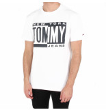 Tommy Hilfiger Tjm box tee wit