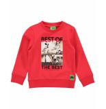 Funky XS Sweatshirt bss1 soccer sweat rood
