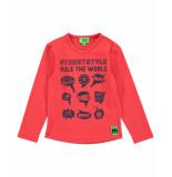 Funky XS T-shirt bss1 streetstyle tee rood