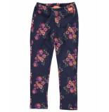 Funky XS Legging/panty/sok fp flower legging blauw