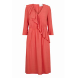 JUST FEMALE Austin dress rood