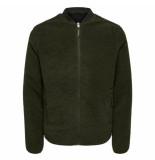 Selected Homme Selected simple jacket groen