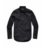 G-Star Core super slim shirt l/s zwart