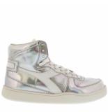 Diadora Sneakers mi basket hologram zilver