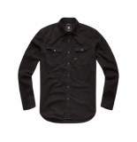 G-Star 3301 slim shirt l/s zwart