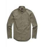 G-Star Core super slim shirt l/s groen