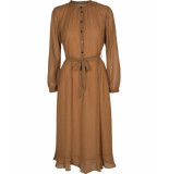 MOSS COPENHAGEN Evaline ls dress aop bruin