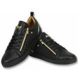 Cash Money Coole sneakers heren zwart