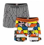 Muchachomalo Men short 2-pack between the lines