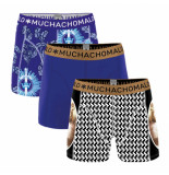 Muchachomalo Boys short 3-pack no guts no glory