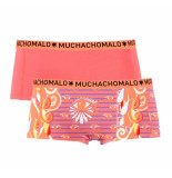 Muchachomalo Ladies 2-pack short eyes