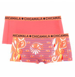 Muchachomalo Girls 2-pack short eyes