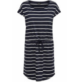 Only Onlmay s/s dress noos 15153021 night sky/primo stripes blauw
