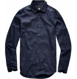 G-Star Core super slim shirt l\s blauw
