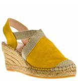 Fabiolas Dames sandalen geel
