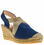 Fabiolas Dames sandalen blauw