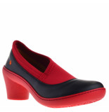 Art Dames pumps zw rood