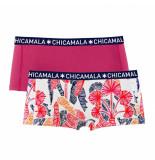 Muchachomalo Girls 2-pack short nature