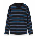 Scotch & Soda T-shirt 152255 blauw