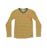 Funky XS T-shirt bss1 no alibi tee geel