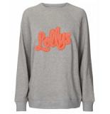 Lollys Laundry Sweatshirt 19302-9001 moby grijs