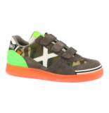 Munich Klittenband schoenen grijs