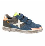 Munich Klittenband schoenen blauw