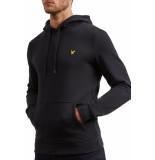 Lyle and Scott Midlayer pullover hoodie zwart