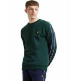 Lyle and Scott Taped sweatshirt groen