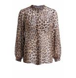 SET 64308 5160703 blouse leopard print