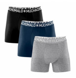 Muchachomalo Men 3-pack light cotton solid/solid/solid