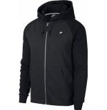 Nike M nsw optic hoodie fz 928475-010 zwart
