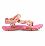 Teva Children hurricane 3 splash tropical peach roze