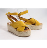 Via Vai 5201066 sandalen geel