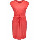 Only Onlnessa s/s dress cs jrs 15194057 neon pink bordeaux