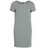 VILA Vitinny new s/s dress noos 14032604 garden topiary/snow white groen