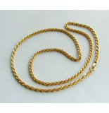 Casio Gouden tors collier geel goud