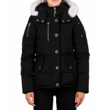 Moose Knuckles 3q jacket lds zwart/wit
