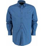 Chris Cayne Overhemd lange mouw chc28f122.1169/2028 - blauw