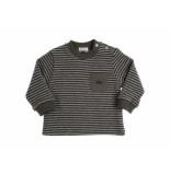 Gymp Sweater streep grijs khaki beige