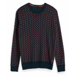 Scotch & Soda Pullover 152353 groen