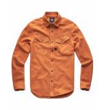 G-Star Overhemd d14067-7647-a493 bruin