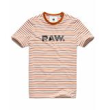 G-Star T-shirt d15246-b583-a665 bruin