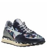 A.S. 98 Sneakers combi zwart