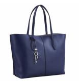Tod's Handtas joy bag large blauw