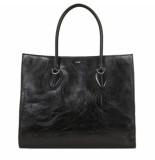 Tod's Handtas shopping bag large zwart